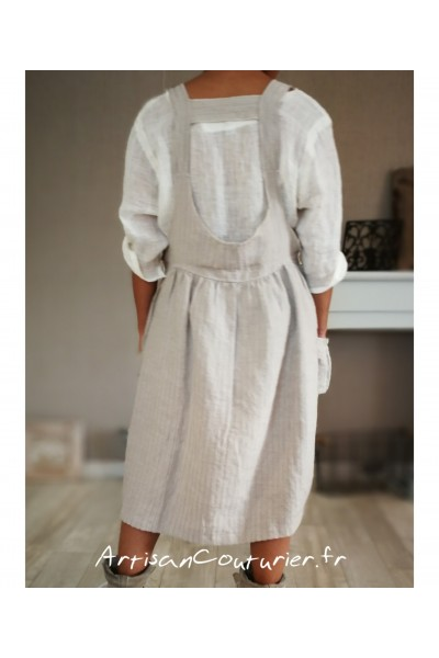 """Robe """"Mam Ours"""" Gris M"""
